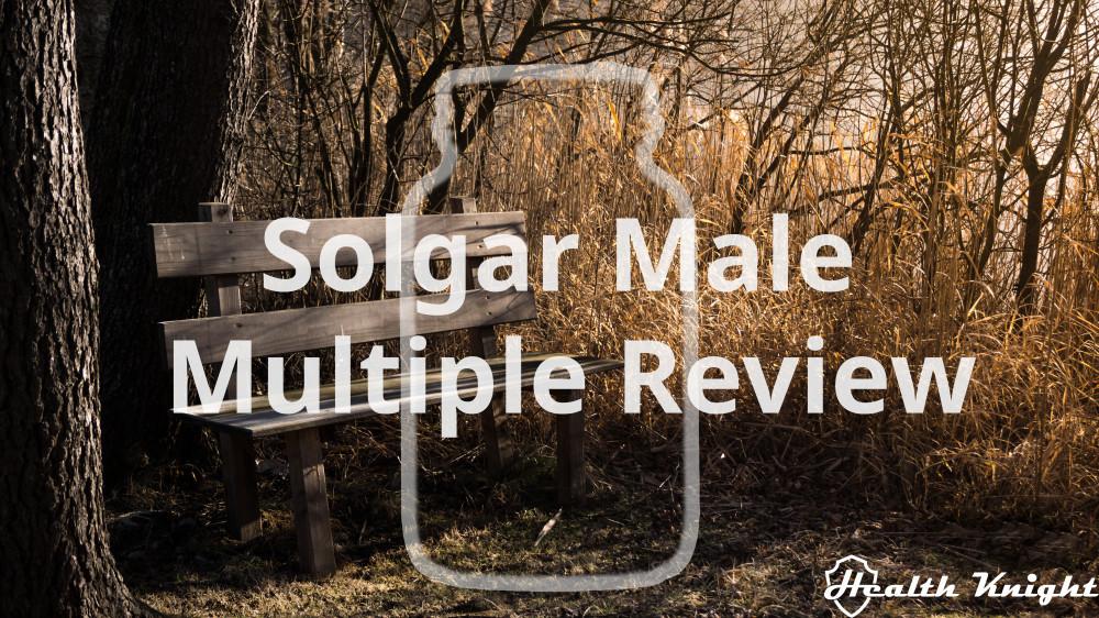 Solgar Male Multiple Review