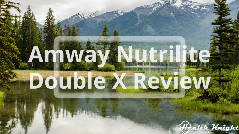Amway Nutrilite Double X Review