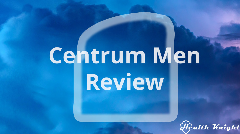 Centrum Men Review