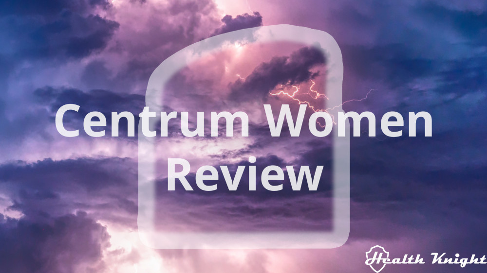 Centrum Women Review
