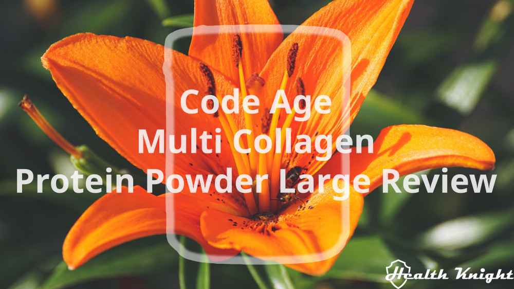 Code Age Multi Collagen Protein Powder Large Review
