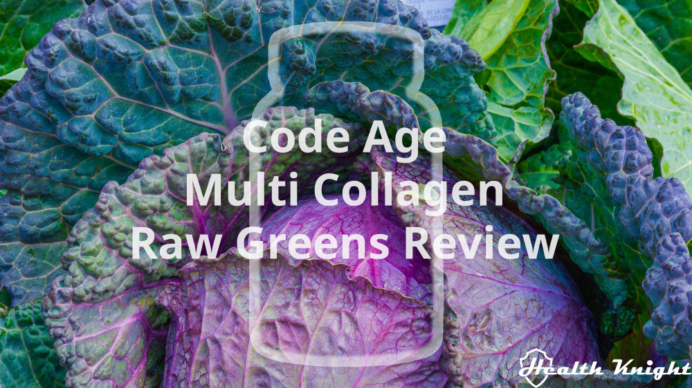 Code Age Multi Collagen Raw Greens Review
