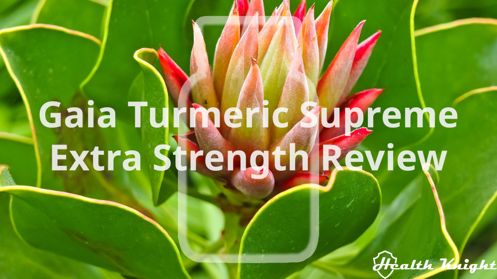 Gaia Turmeric Supreme Extra Strength Review
