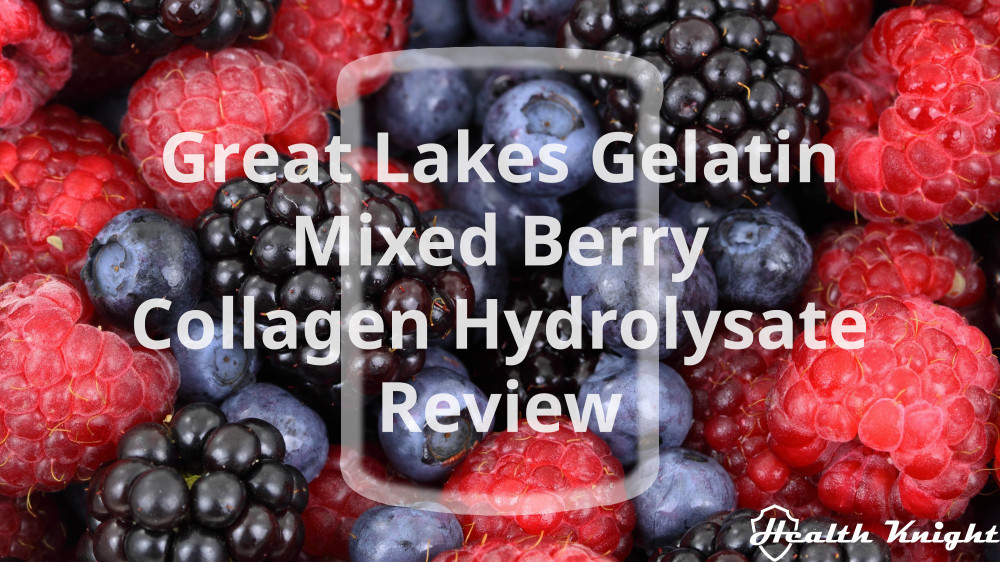Great Lakes Gelatin Mixed Berry Collagen Hydrolysate Review