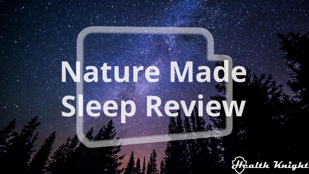 Nature Made Sleep Review