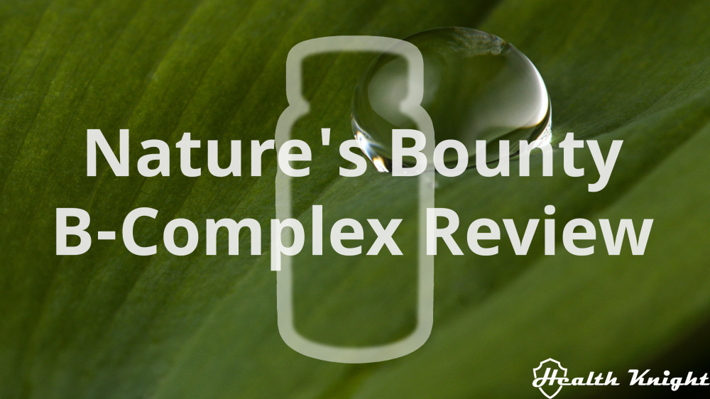 Nature's Bounty B Complex Review
