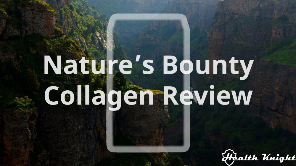 Nature's Bounty Collagen Review