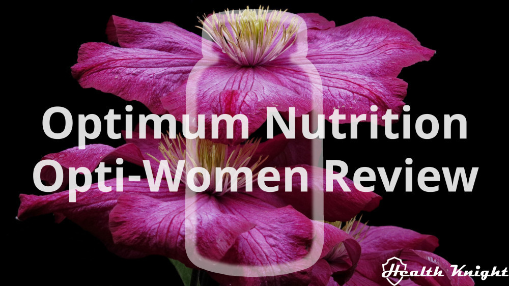 Optimum Nutrition Opti-Women Review