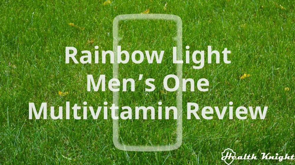 Rainbow Light Men's One Multivitamin Review