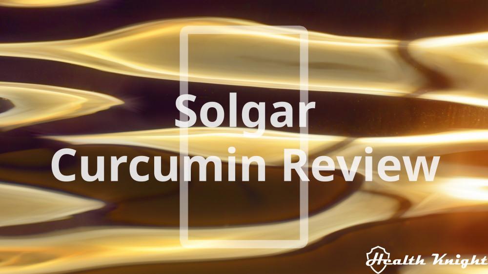 Solgar Curcumin Review