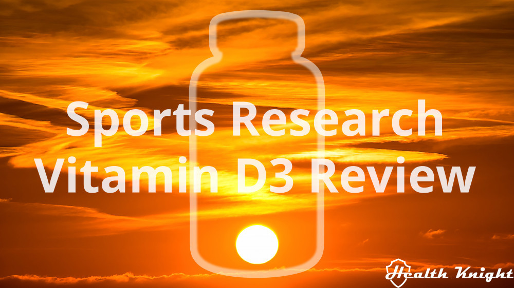 Sports Research Vitamin D3 Review