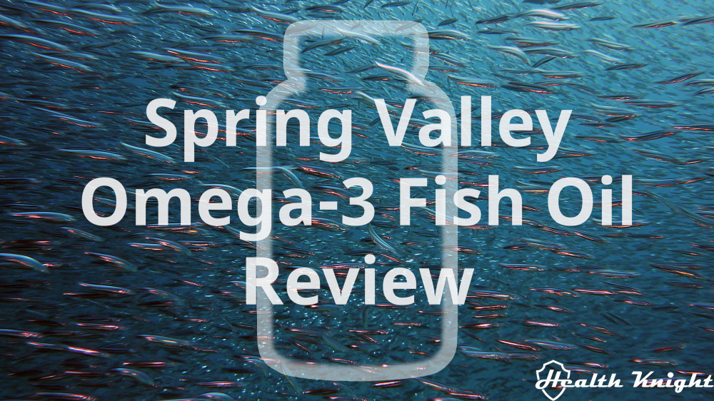 Spring Valley Omega-3 Fish Oil Review