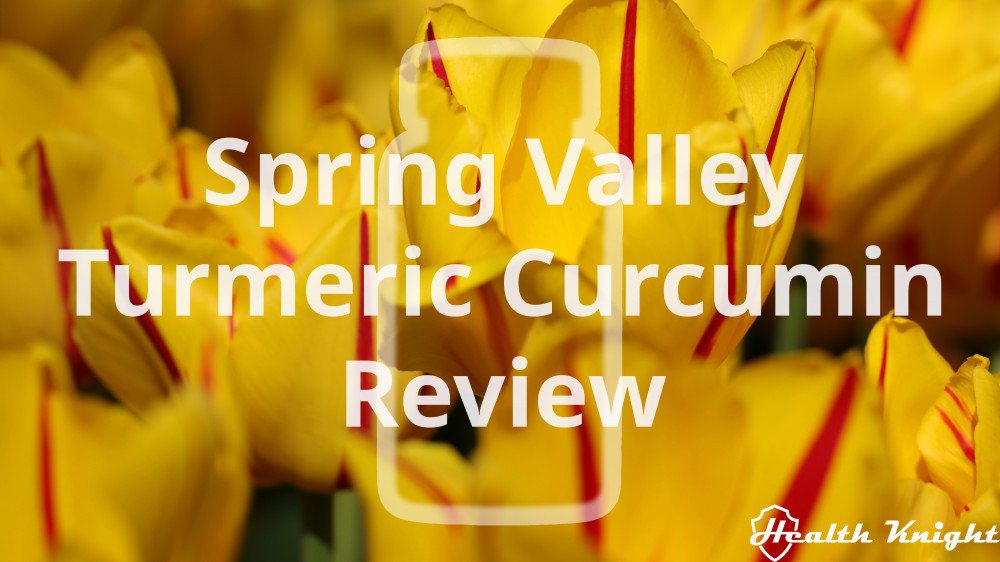 Spring Valley Turmeric Curcumin Review