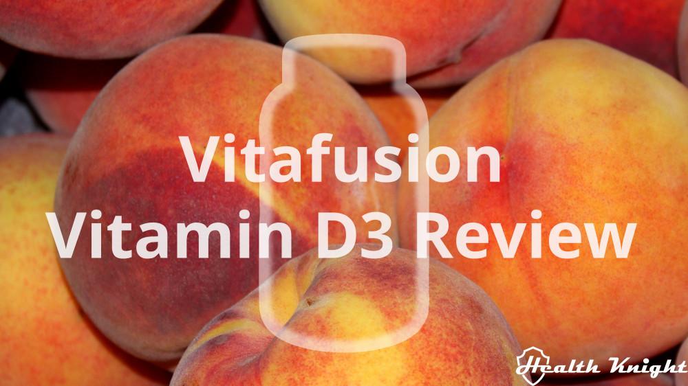 Vitafusion Vitamin D3 Review
