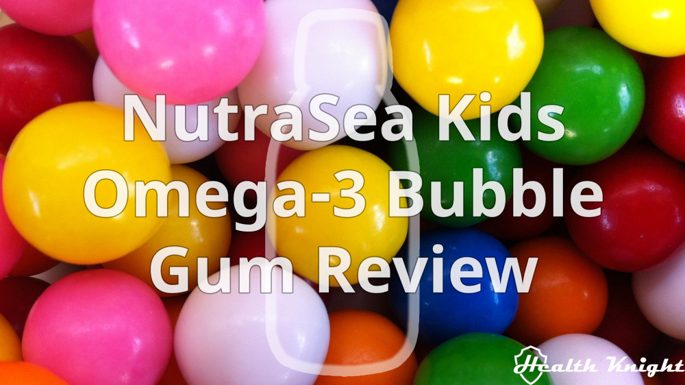 NutraSea Kids Omega-3 Bubble Gum Review