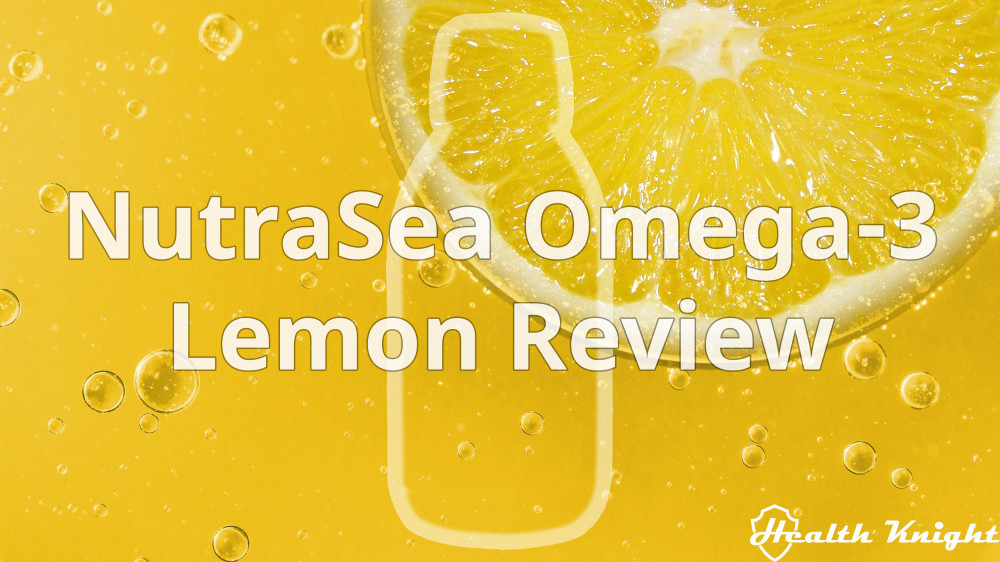 NutraSea Omega-3 Lemon Review