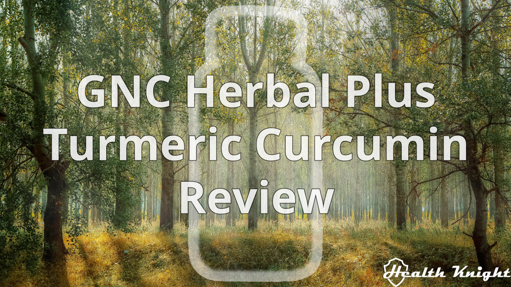 GNC Turmeric Curcumin Review