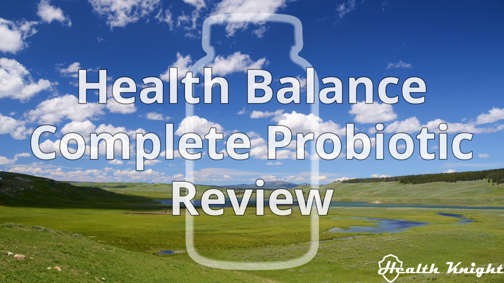 Health Balance Complete Probiotic Review